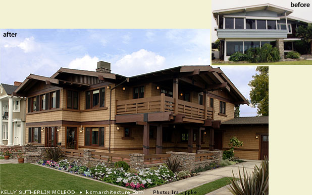 Portfolio kelly sutherlin mcleod architecture for Craftsman style architects