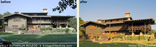 Gamble House Conservation Project