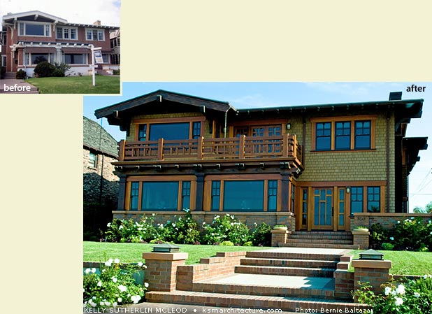 Rehabilitation of a single-family Craftsman style residence