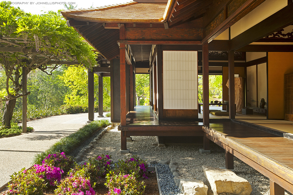 Kelly sutherlin mcleod architecture inc long beach ca for Japanese house garden